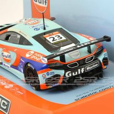 Scalextric McLaren 12C GT3 Macau GT Cup 2014 No.23. The awe-inspiring new 12C is 100% pure McLaren. Lightweight and strong, fast and efficient, comfortable and exhilarating.