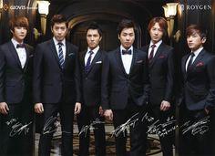 shinhwa | Shinhwa stars in new 'Roygen CF' ~ Latest K-pop News - K-pop News ...