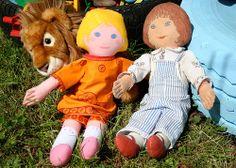 Lovely clothkit dolls