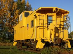 """Caboose """"Home"""" (Photo 1 of 2). Great links to other caboose house stories."""