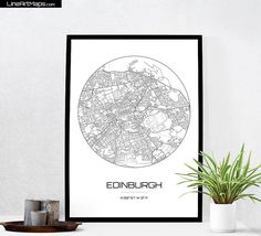 Hey, I found this really awesome Etsy listing at https://www.etsy.com/listing/257700625/edinburgh-map-print-city-map-art-of
