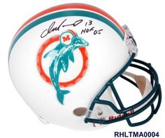 68bb074ac28 Dan Marino Miami Dolphins Autographed Riddell Replica Throwback Helmet with  HOF 05 Inscription - Fanatics Authentic Certified - authentic deal a deal