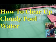 1000 ideas about cloudy pool water on pinterest above ground pool ground pools and pools. Black Bedroom Furniture Sets. Home Design Ideas