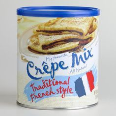 My Favorite Traditional French Crepe Mix, 16 Oz (Pack of 3)
