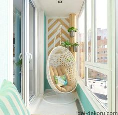 Inspiring Minimalist Home Balcony Design Ideas have an important role in your home because it is located in front of the house. Although only as an additional function, the balcony design must stil… Small Balcony Decor, Small Balcony Design, Apartment Balcony Decorating, Interior Decorating, Interior Design, Decorating Ideas, Apartment Walls, Apartment Balconies, Decor Ideas