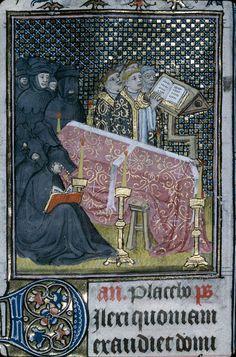 Cote  Troyes - BM - ms. 3713 f. 118 Sujet  Office funèbre Titre  Heures à l'usage de Troyes Datation  vers 1400