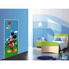 Mickey egér álló poszter (90 x 202 cm) Mickey Mouse Bedroom, Mickey Disney, Mickey Mouse Clubhouse, Poster Mural, Classroom Setting, Future Classroom, Blue Walls, New Room, Doors