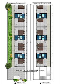 Guest House Plans, Small House Floor Plans, Home Building Design, Building A House, Plano Hotel, Studio Apartment Floor Plans, Hotel Bedroom Design, Hotel Floor Plan, Modern Small House Design