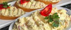 Jednoduchá tvarohová pomazánka s cibulkou   NejRecept.cz Mayonnaise, Carne, Meat, Food, Yogurt Chicken, Quick Recipes, Cook, Super Simple, Fish