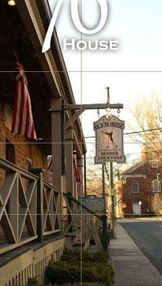Tappan, NY - The '76 House is the oldest bar in the nation (built in 1668). George Washington frequented here, and British spy John Andre was imprisoned here before being executed just up the road.