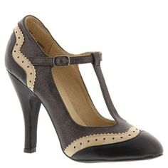 1920s style shoes: DOLCE by Mojo Moxy Harlow (Women's) Black $49