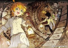 Yakusoku no Neverland (The Promised Neverland) Image - Zerochan Anime Image Board Manga Art, Manga Anime, Anime Art, Norman, Dark And Twisted, Captain Tsubasa, Animes Wallpapers, Neverland, Me Me Me Anime