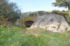"""Parco archeologico di S. Stefano - """"Domus De Janas"""" - Oschiri."""