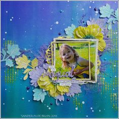 Live. Laugh. Love.: Mixed media layout 'You are magical' with video tu...