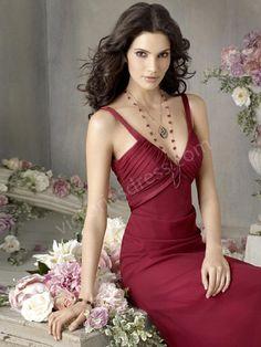 Sheath/Column Chiffon Evening Dress, Bridesmaid Dress