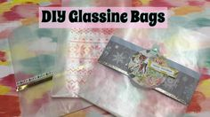 DIY Glassine Bags & 3 Ways to Decorate / December Daily Ideas  | I'm A Cool Mom - YouTube