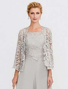 I like this. Do you think I should buy it? Lace Shrug, Lace Dress, Mother Of Bride Outfits, Mother Of The Bride, Wedding Pants Outfit, Wedding Wraps, Lace Wedding, Wedding Shawl, Wrap Clothing