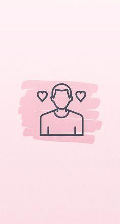 Instagram Blog, Pink Instagram, Instagram Frame, Instagram Story, Flower Png Images, Mini Drawings, Insta Icon, Icon Design, Love Illustration