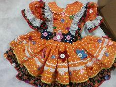 Vestido De Festa Junina FUXICO