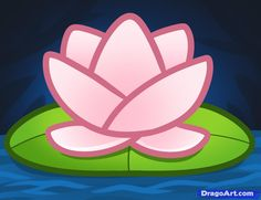 """[[caption id="""""""" align=""""aligncenter"""" Cartoon Drawing Images Of Lotus - Cliparts Painting Lessons, Art Lessons, Drawing For Kids, Art For Kids, Drawing Step, Beautiful Flower Drawings, Drawing Flowers, Online Coloring For Kids, Rose Drawing Simple"""