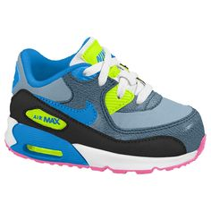 Baby Boys Nike Air Max 90 Running Shoes Toddler Size 4  fc1764ce2