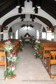 1000 images about decoracion iglesia on pinterest bodas for Decoracion iglesia boda