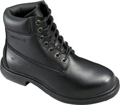 Genuine Grip Footwear Womens SlipResistant Waterproof BootBlack LeatherUS 10 W ** Learn more by visiting the image link.