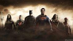 justice league by beyondityart Superman Movies, Superman Family, Dc Movies, Batman Vs Superman, Justice League Characters, Aarmau Fanart, Justice Society Of America, Dc Comics Heroes, Dawn Of Justice