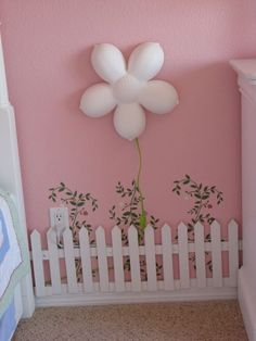 Twin Girls Garden Room, This is a garden room I did for my twin daughters. - Twin Girls Garden Room, This is a garden room I did for my twin daughters. I wanted to do something - Fairytale Bedroom, Fairy Bedroom, Unicorn Bedroom, Garden Bedroom, Girls Bedroom, Bedroom Ideas, Baby Decor, Kids Decor, Decor Ideas