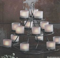 Roost Tealight Pyramid – Modish Store