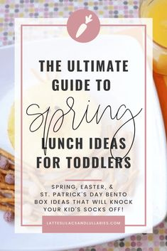 Your kids will love these creative spring bento box lunch ideas. Even the pickiest of eaters won't be able to resist the adorable designs. Home Meals, Kids Meals, Lunch Box Recipes, Lunch Ideas, Bottles For Breastfed Babies, Food Art For Kids, Easter Lunch, Gift Guide For Him, Bento Box Lunch
