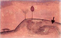 Paul Klee - Landscape in afterglow