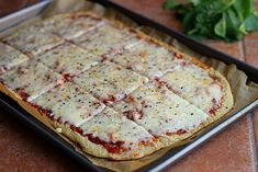 Thin and Rustic Quinoa Pizza Crust –Recipe and Video
