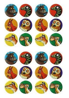 Gruffalo Edible Fairy Cup Cake Decoration Toppers Rice Paper X 24 for sale online Gruffalo Activities, Gruffalo Party, The Gruffalo, Kindergarten Books, 3rd Birthday Parties, Birthday Cake, Rice Paper, Stories For Kids, Book Characters