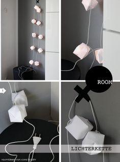 #Lichterkette, #Origami