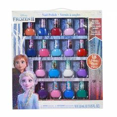 Disney Frozen 2 Girls Deluxe Nail Polish Gift Set Non-toxic Many Colors 18 Piece Little Girl Toys, Toys For Girls, Kids Toys, Little Girls, Disney Frozen Nails, Disney Frozen Bedroom, Frozen Room, Brinquedos Fisher Price, Deluxe Nails