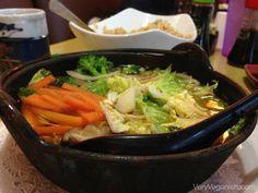 Vegetable Udon Noodle Soup at Oishii Japanese in Houston, Texas - Review: Oishii Japanese Restaurant | Very Veganish #sushi #japanese #food #udon #noodles #vegan http://veryveganish.com/review-oishii-japanese-restaurant/