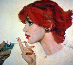 Maxwell+Whitmore+1913-1988++-+American+Fashion+painter+and+magazine+illustrator+-+Tutt'Art@+(6)