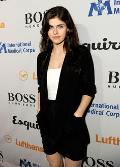 Alexandra Daddario = Spider-Woman aka Jessica Drew (orig. wanted her as Scarlet Witch before they cast Elizabeth Olsen.)