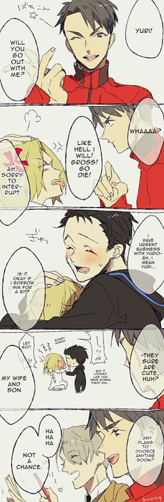 Jealous Otabek. I need that in ,y life, please let it happen