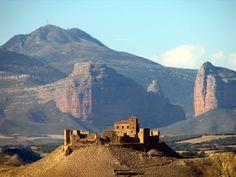 salto de roldan y castillo de Montearagón