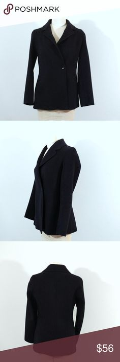 """Banana Republic Black Wool Jacket Up for sale Banana Republic Black Wool Jacket, Size XS.   Check out my closet, bundle and give me your offer!  Measurements: Top to Bottom: 27"""" Bust Area: 17"""" Sleeves: 18""""  All Measurements are approximate and taken flat in the front only. Banana Republic Jackets & Coats"""