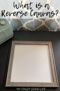 Have you seen the cool new way to make DIY signs with your Cricut or Cameo? Making a reverse canvas takes a lot of the work and materials out of creating your own DIY farmhouse signs. This process is quick and easy and makes for a great custom gift! Silhouette Cameo, Silhouette Projects, How To Make Canvas, How To Make Signs, Making Signs, Walk In Shower Designs, Cricut Tutorials, Cricut Ideas, Vinyl Signs