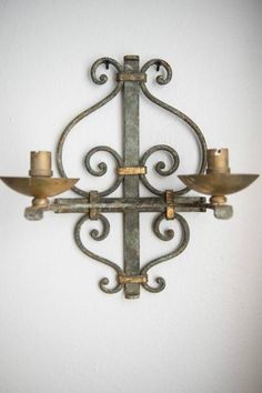 French sconce from My London Flat
