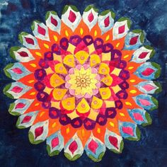 Spring Will Come Painting / World Mandalas