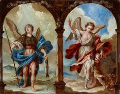 Archangel Raphael and Guardian Angel