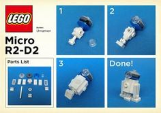 LEGO: Micro R2-D2 Instructions | Please try to make it becau… | Flickr