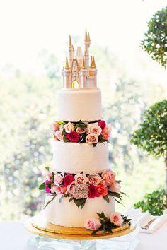 WDW wedding cake wedding disney This Is How Much a Disney World Wedding Costs Wedding Costs, Wedding Events, Dream Wedding, Wedding Favors, Wedding Ideas, Disney Wedding Centerpieces, Wedding Bands, Wedding Planning, Budget Wedding