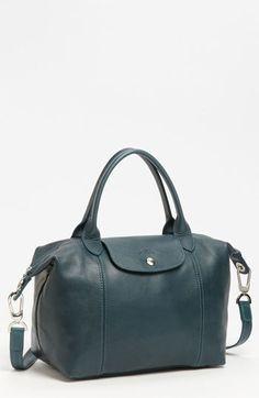 Longchamp 'Le Pliage Cuir' Leather Handbag | Nordstrom
