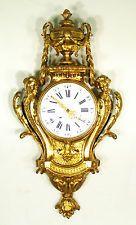 Французский старинная бронзовыми позолоченными бронзовыми картель часы Maison маркиз languereau Paris